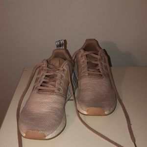 Dusty Pink NMD shoes